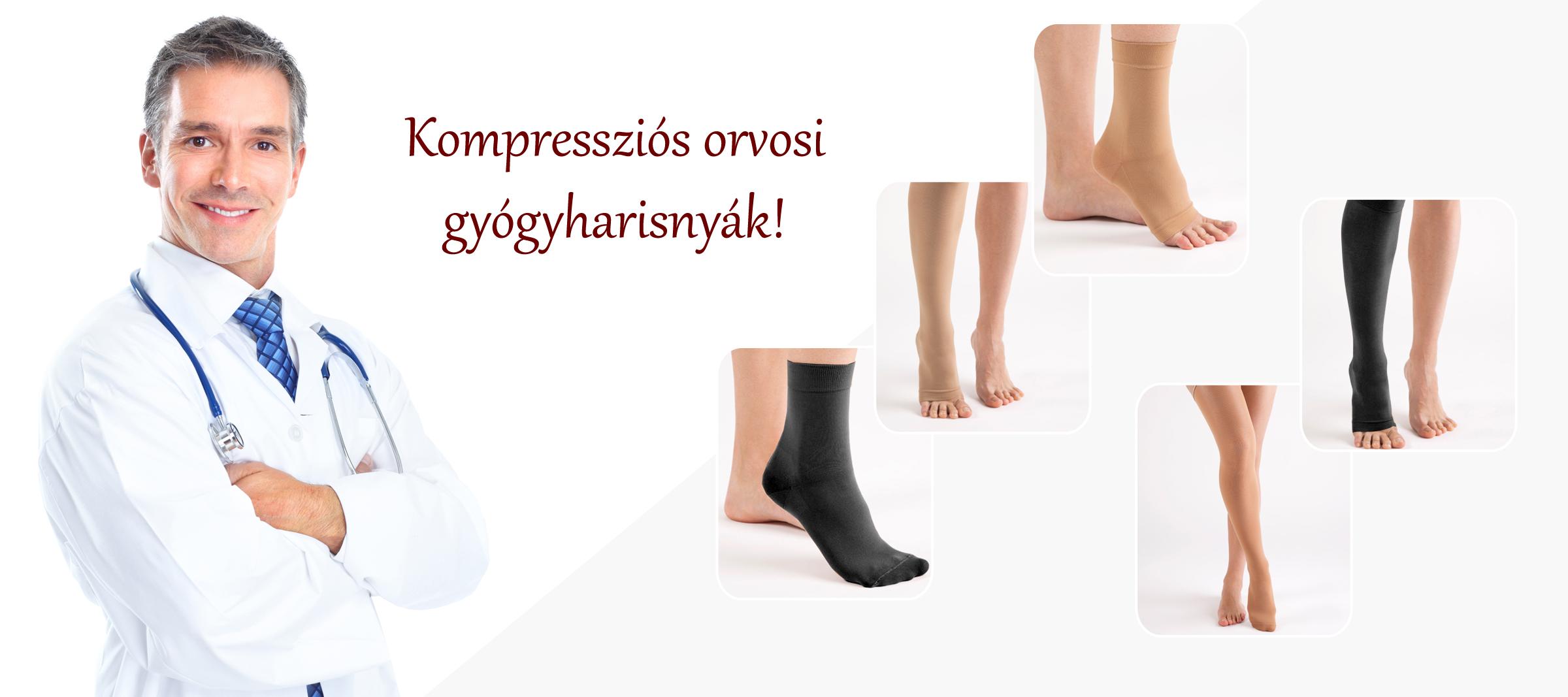 hogyan viseljünk kompressziós harisnyát visszerek esetén)