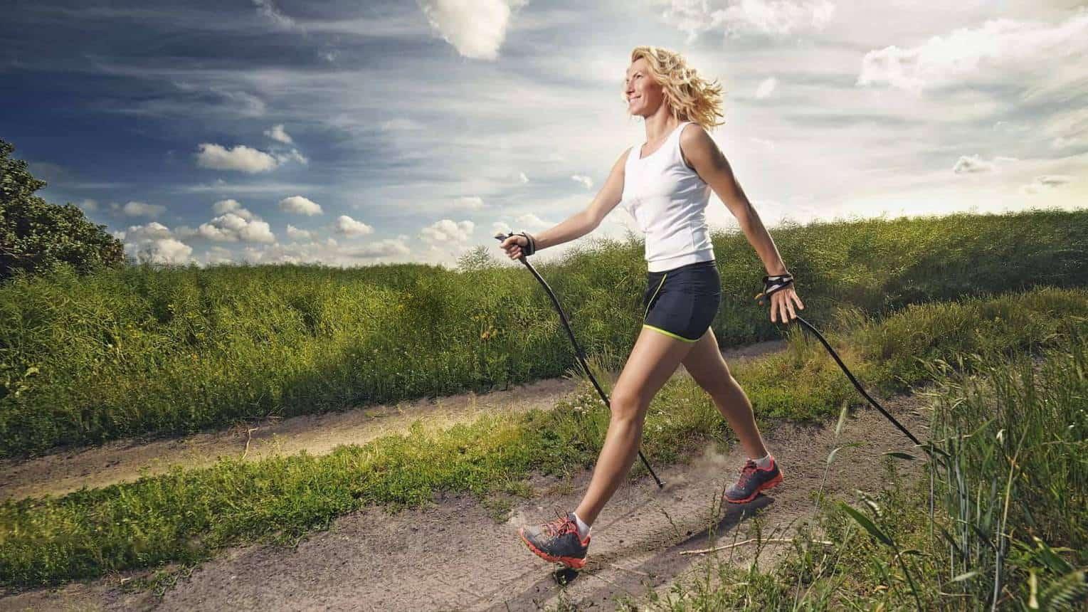 Nordic walking botokkal és visszérrel