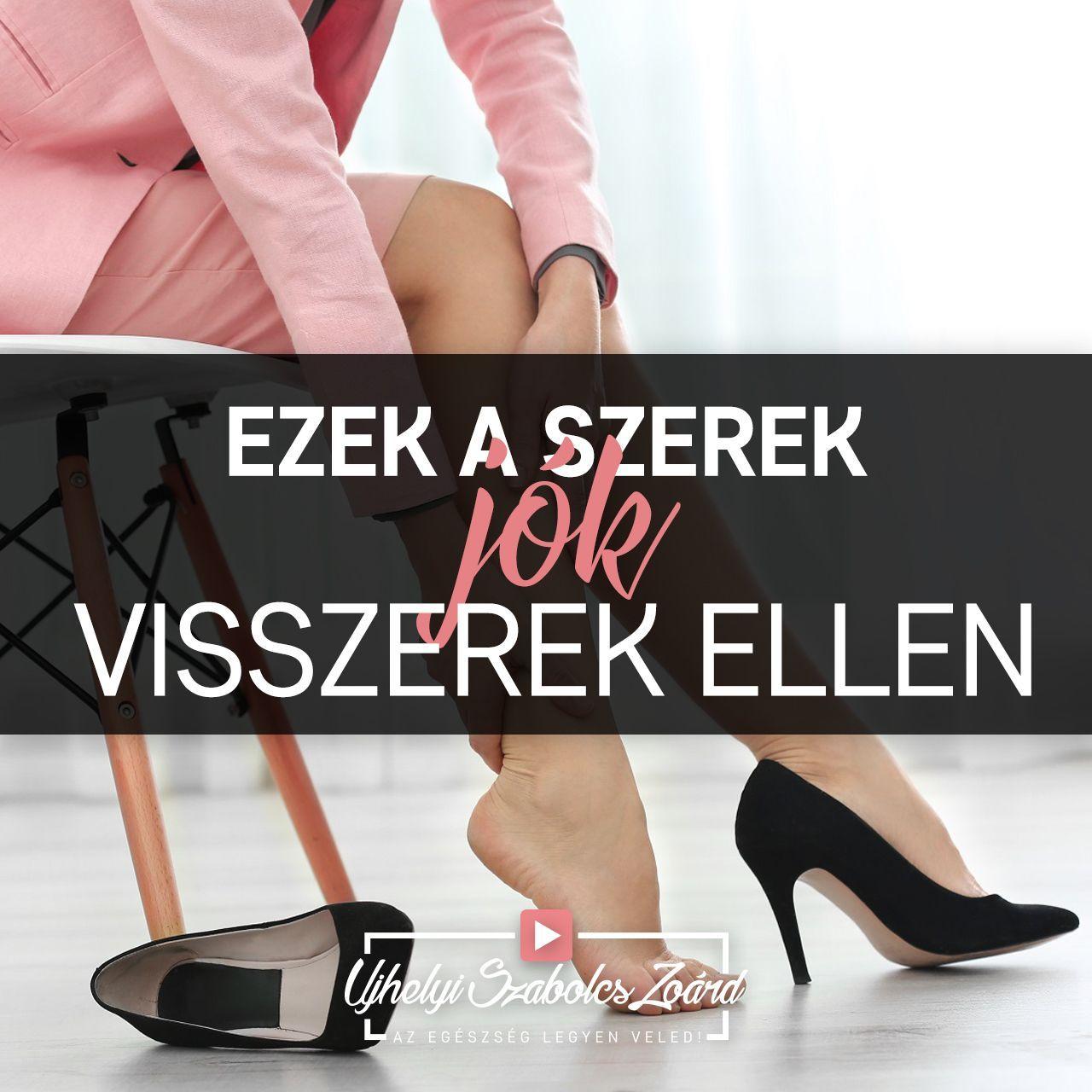 kényelmes cipő a visszér ellen