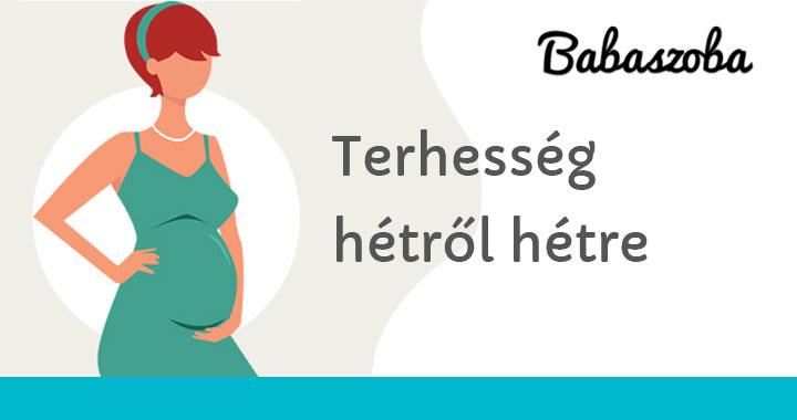 terhesség 30 hét visszér)