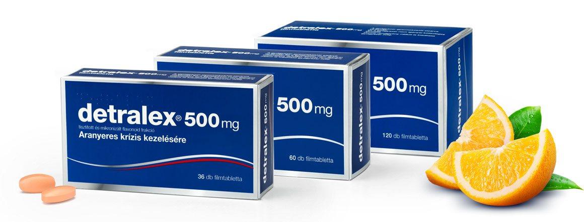 tabletták visszerek kezelésére