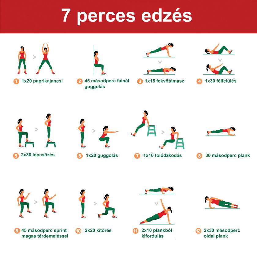 erősítő edzés program visszér