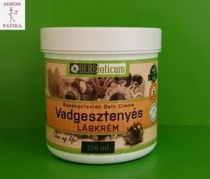 HERBioticum Vadgesztenyés lábkrém | Kozmetikumok | Herbioticum™
