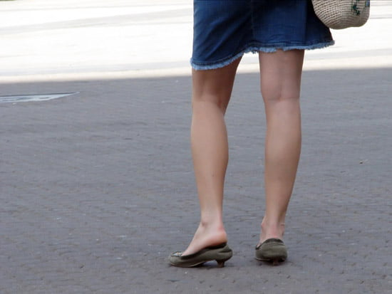 lábak emelése a visszerekből