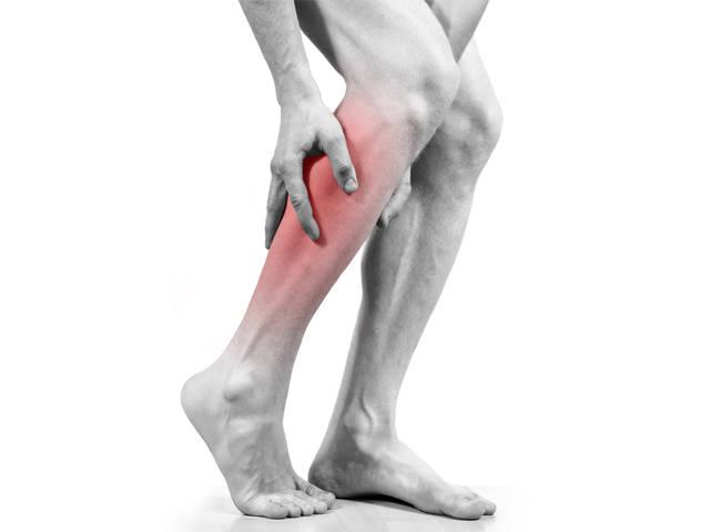 a láb megfeketedése visszeres