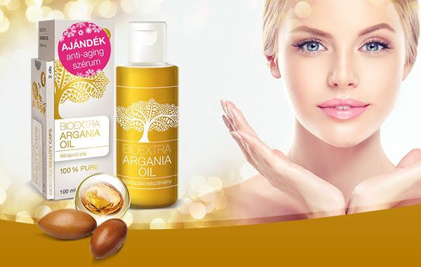Bioextra Argania oil bőrápoló olaj + Q10 – öregedésgátló, mely gyulladáscsökkentő hatású