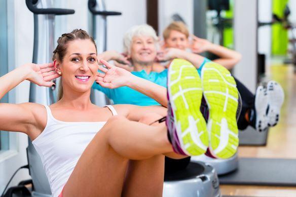5 törzsizom-erősítő gyakorlat ülőlabdával