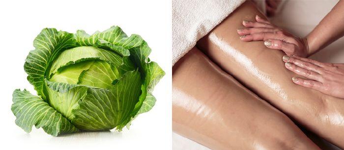 saláta levelek a visszér ellen