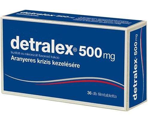 visszér tabletták listája