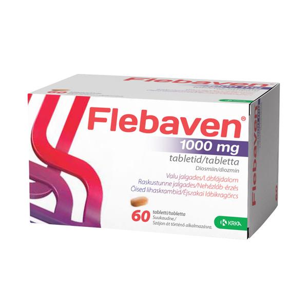 a visszér kezelése tablettákkal
