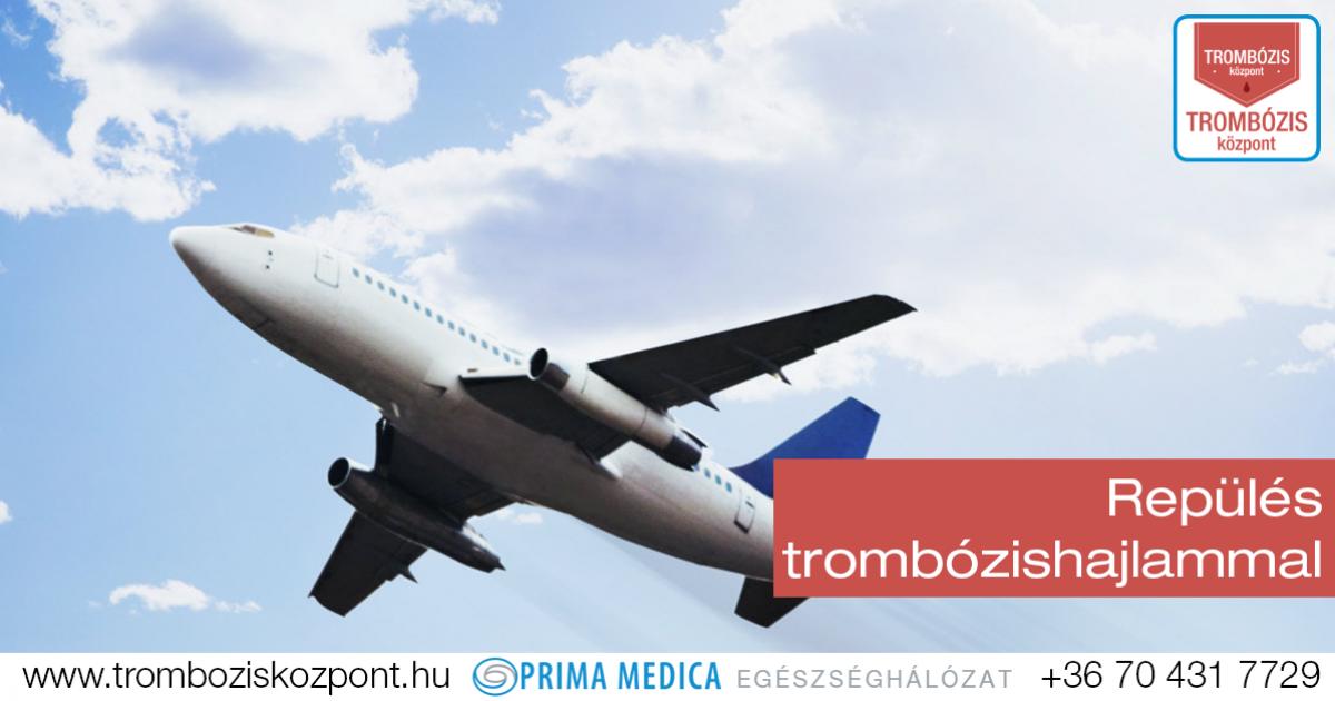 Repülőút alatti trombózis megelőzése - EgészségKalauz